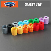 Various color Safety cap for vacuum blood collection tube