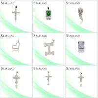 Starland Wholesale Factory Price 925 Sterling Hot New Silver Pendant Gc Hot New Silver Pendant Jewelry