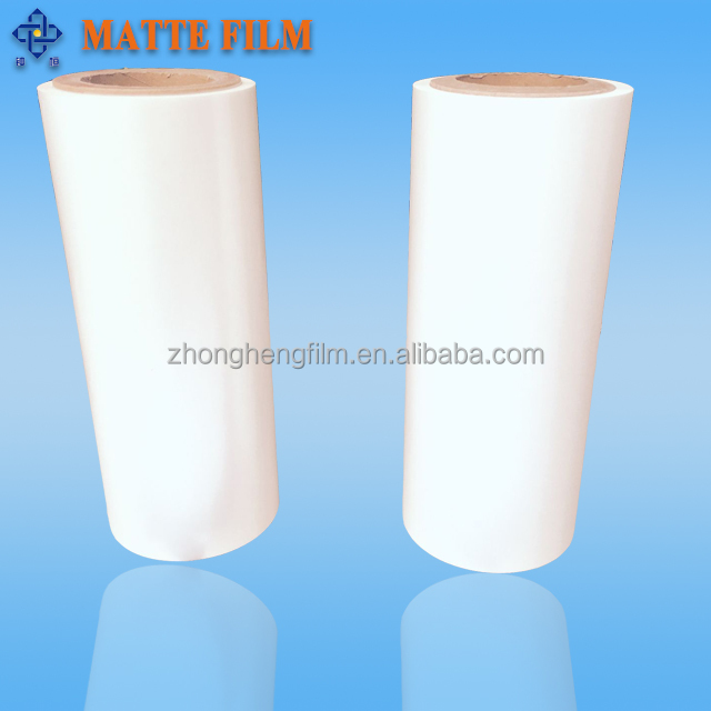 15-25micron micky white Bopet matte film with one side corona treament