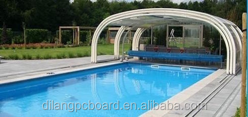 Polycarbonate New Hard Swimming Pool Cover Buy Pc Solid Transparent Sheet Solid Clear Swimming