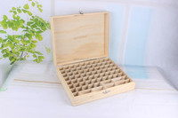 essential oil packaging wooden box for beauty shop use