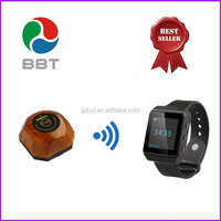 Portable wireless waiter call button systems call bell paging system