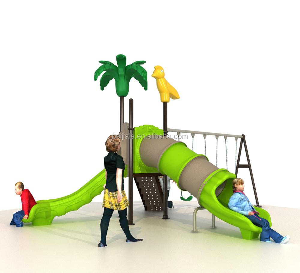 New small multifunction plastic tunnel slide playset for toddler