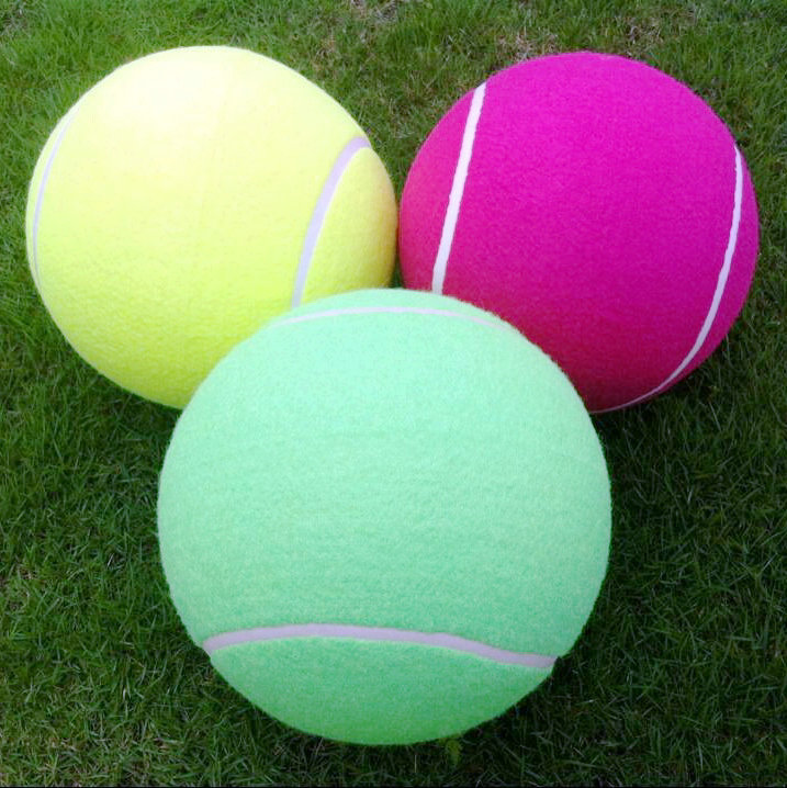 "inflatable big tennis balls 8.5"" for tennis fans"