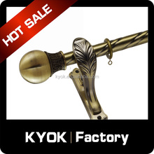 KYOK durable hollow curtain rods made in China high quality resin limit