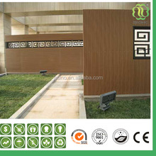 wpc outdoor wall cladding/interlocking exterior wall panels