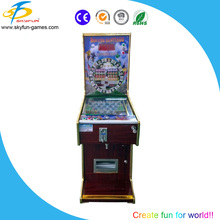 Factory price wooden pinball machine for game center