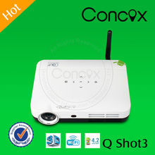 hdmi projector for smartphones play media from USB directly Concox Q shot 3