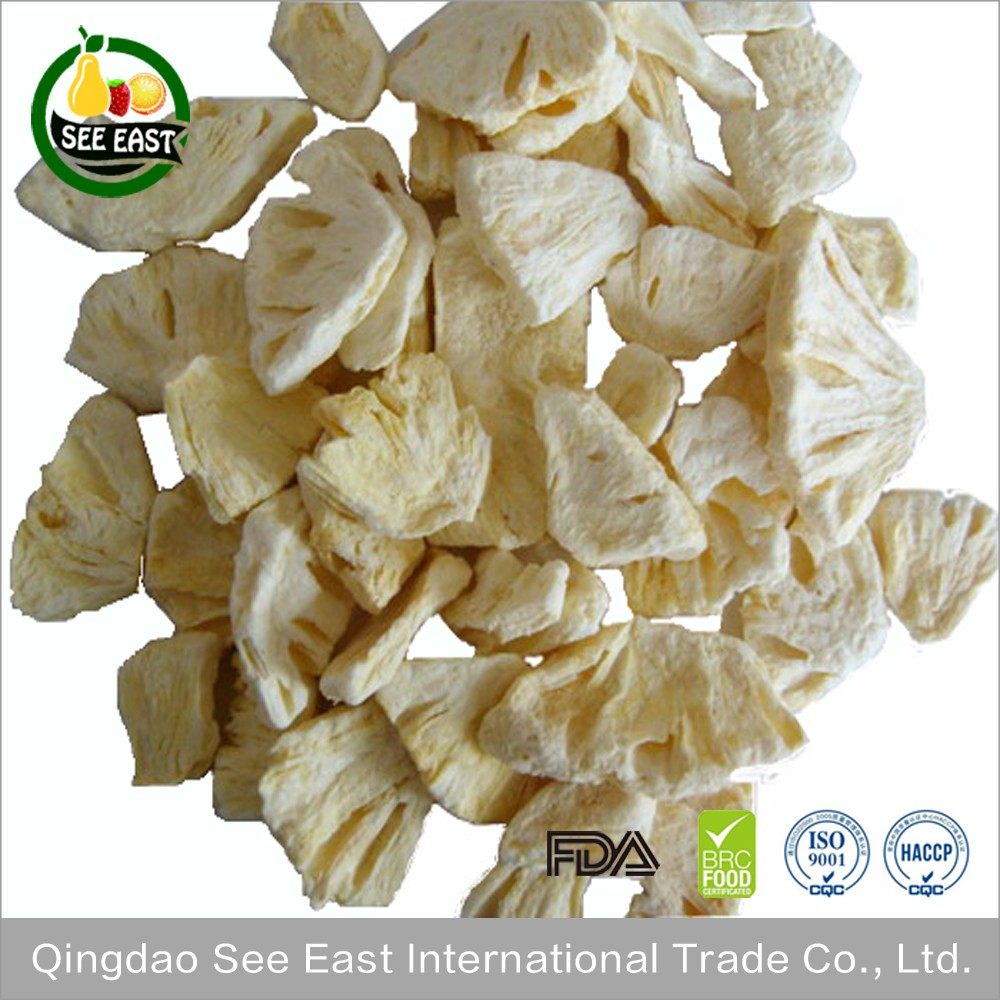 Freeze dried food fruit snack Freeze Dried Pineapple Sliced