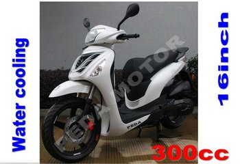 2013 EEC 300cc water cooling 16 inch wheel scooter