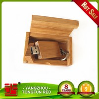 Top selling high quality bulk wood usb flash drive for gift
