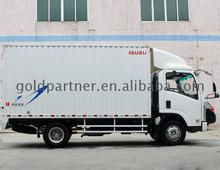 6 wheelers refrigerator cargo truck 5 tons 4x2 van 4x4 mini for sale