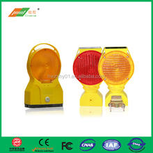 Construction flashing Solar traffic barricade Light
