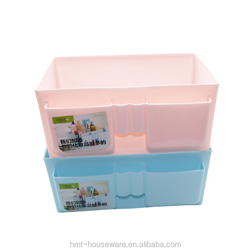 pp wholesale household desktop plastic cosmetic storage box