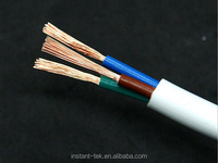 3 cores pvc insulated pvc sheathed unarmoured power cable