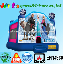 Frozen kids bouncy castle used inflatable jumping castle for sale inflatable bounce houses for parties