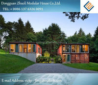 Modular prefab home kit price,low cost flat pack container offices