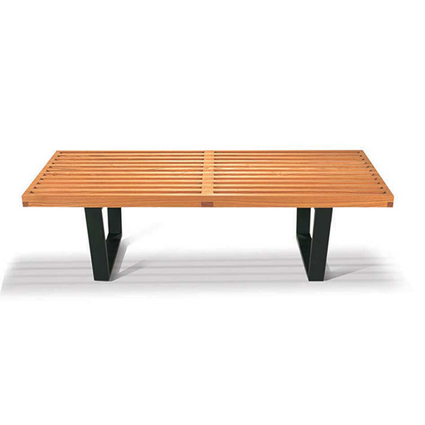 Solid wood Platform Bench 9010B-1