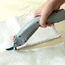 rechargeable fabric cutting electric scissors