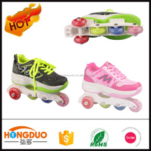 quad roller skate shoes for kids,quad roller skate 2 in 1 design
