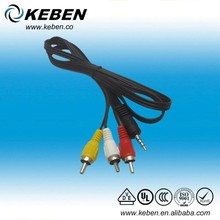 Good price audio vedio 3.5mm mono to stereo cable hot selling audio cable