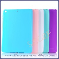 Glossy Candy Color Soft Tablet TPU Back Cover Case for iPad mini 2 3 4 Air Pro 2 6