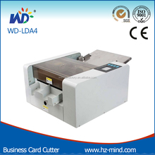 A4 Size Full automatic buisness cards slitter (WD-A4)