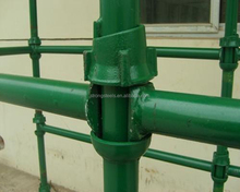 Zinc Coated Cuplock Scaffolding Parts Top / Bottom Cup
