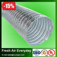 flexible aluminum foil air conditioning connecting pipe