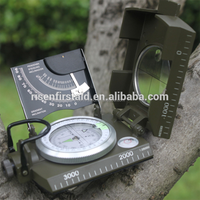Military Foldable Compass Kit/Waterproof Hiking Compass/Army Sighting Compass