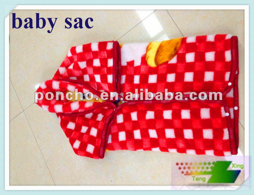 carton rolled design baby's blanket