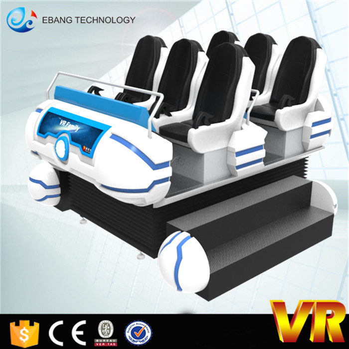 Dynamic 360 Degree 9d Vr 6 Seats Cinema, 9d Vr Family By Movie Power