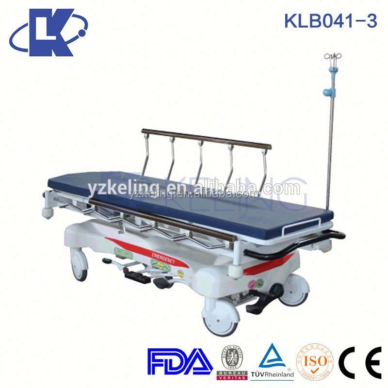abs board stretcher connecting stretcher for ot room hydraulic hospital stretcher