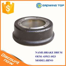 Japanese truck parts 43512-1023 brake drum manufacturers for hino