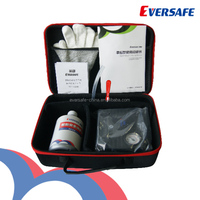 Factory made tyre repair kit with inflator