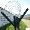 Premium quality bad weather resistance wpc outdoor security fence