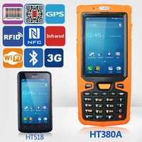 Jepower HT380A Quad Core Android Handheld Industrial PDA