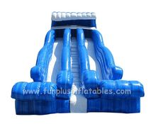 High quality inflatable water slide unique design on sale F4122
