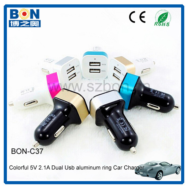 12 volt battery charger usb car cigarette lighter adapter with FCC/CE/ROHS