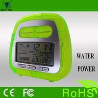 product cheap price high quality lcd alarm clock and thermometer hygrometer garden weather station
