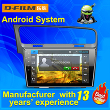 2 din bluetooth android4.4.4 car dvd player for VW with car multimedia system /whosales car GPS navigation