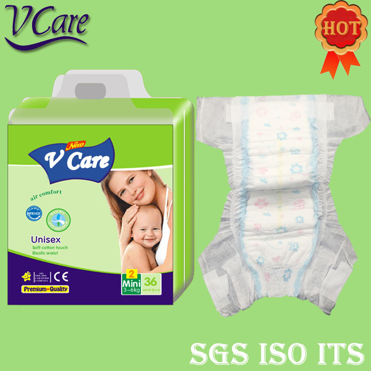 Name Brand B Grade Baby Diapers In Bales