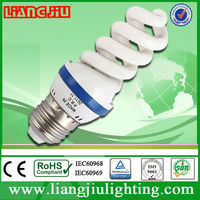 10000k 5w 8000h full spiral energy saving products