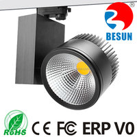 New design high power 40w led track light for clothing store