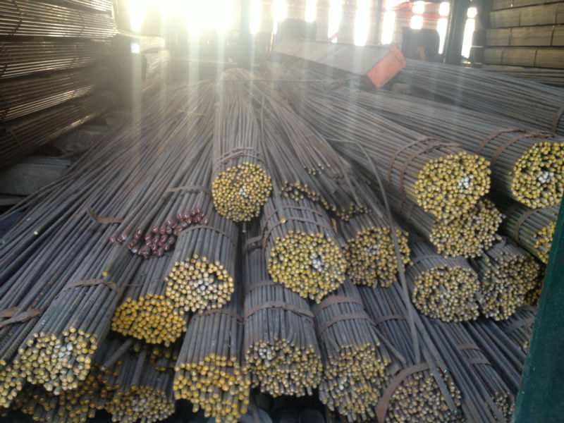 SD 390 Steel Round Bar