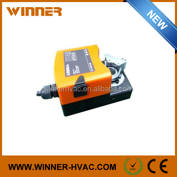 24V Square Spindle 6mm~12mm Modulating Air Damper Actuator