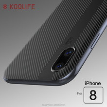 Hot selling For iPhoneX Soft TPU Back cover Electroplating PC bumper phone case For Iphone X Case
