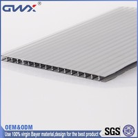 ISO9001:2008 SGS Greenhouse Polycarbonate Hollow Sheeting