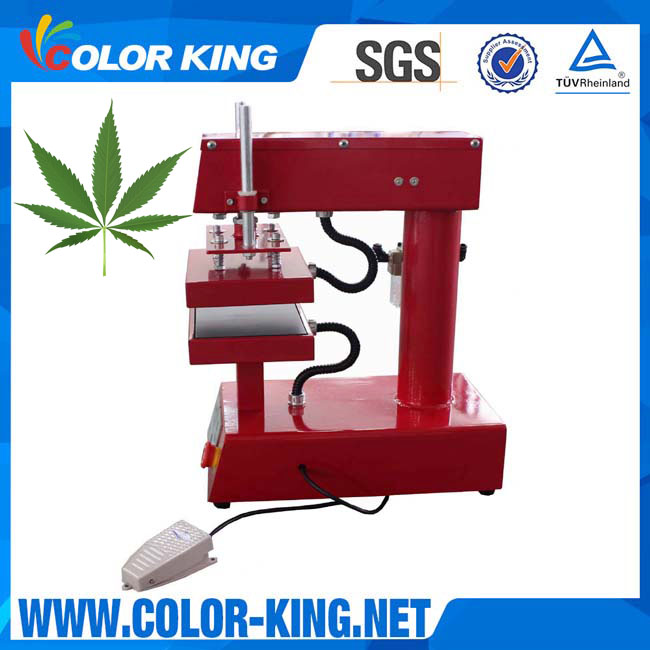 Dual Heating Plates Heavy Even Force Pneumatic Rosin Heat Press
