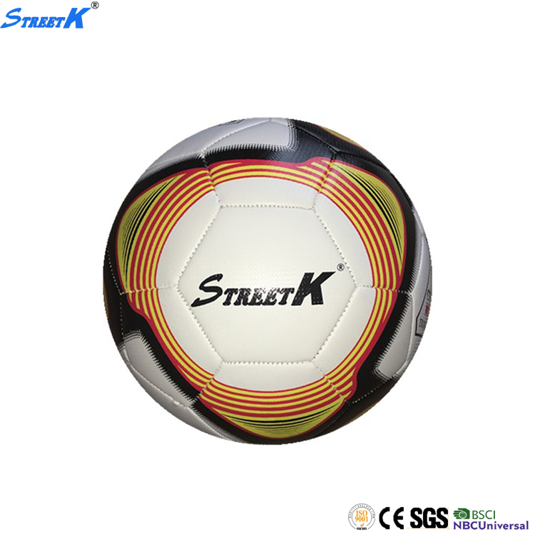leather soccer ball size 5 custom print hand sewing match soccer ball